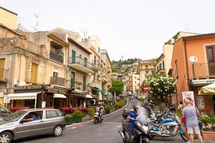 taormina town