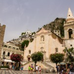 taormina town church