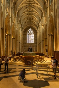 the nave from the east