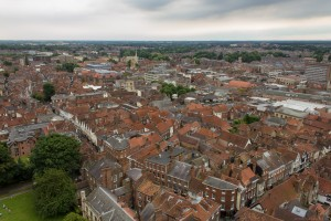 view of york form yorkminster tower